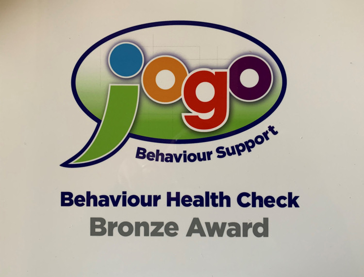 Jogo Behaviour Support Health Check - Bronze Award