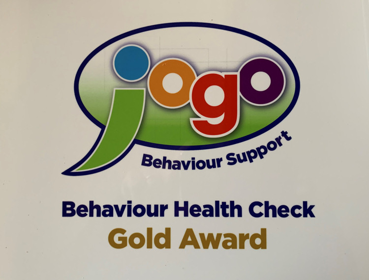 Jogo Behaviour Support Health Check - Gold Award