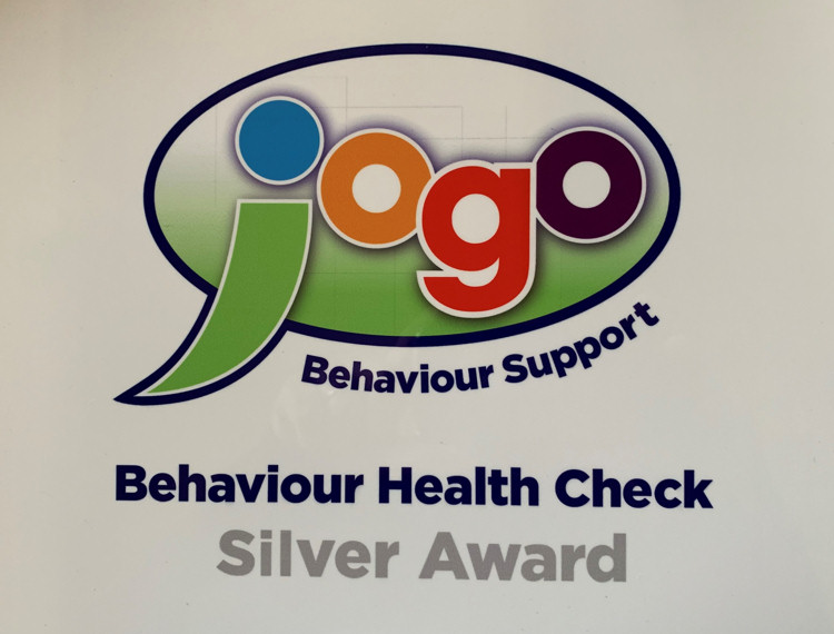 Jogo Behaviour Support Health Check - Silver Award
