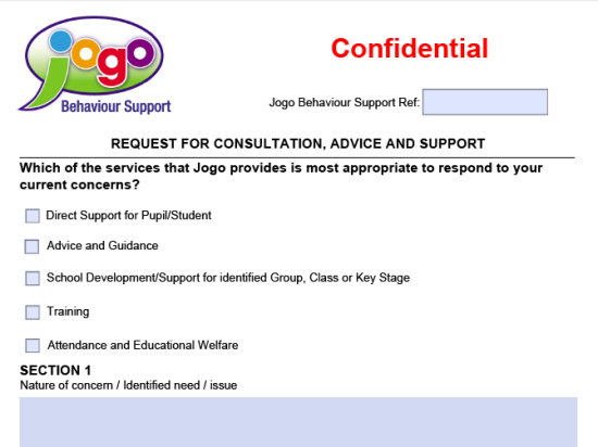 Jogo Behaviour Support  Child Behaviour Support For Schools